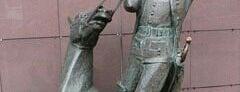 Памятник барону Мюнхгаузену is one of Места, где сбываются желания. Москва.
