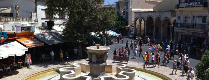 Liontaria Square is one of Creta en bruto.