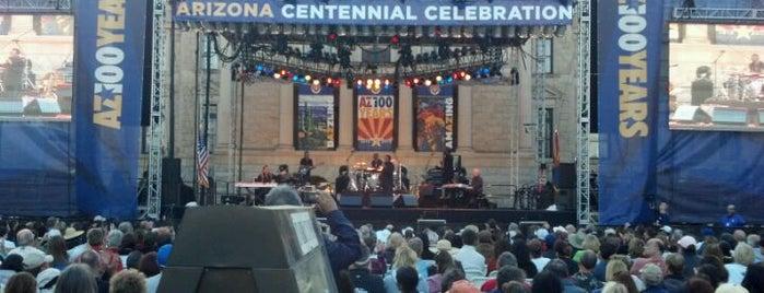 Arizona Centennial Best Fest - Arizona Best Stage is one of PHX Brews in The Valley.