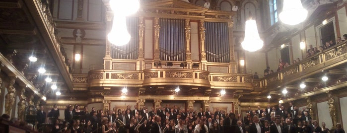 Musikverein is one of Vienna Highlights #4sqCities.