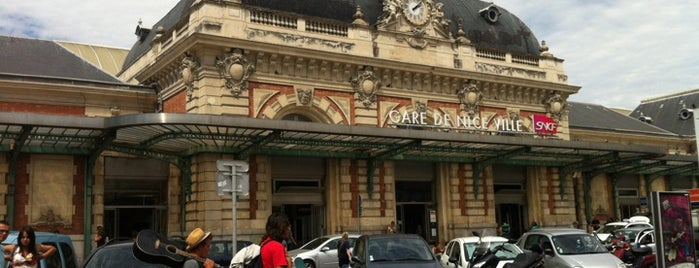 Gare SNCF de Nice Ville is one of Irina's Liked Places.