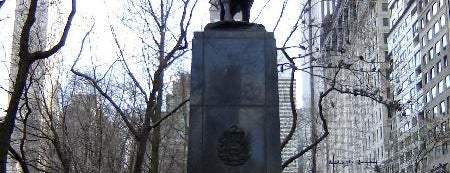 Simon Bolivar Statue is one of Tourist attractions NYC.