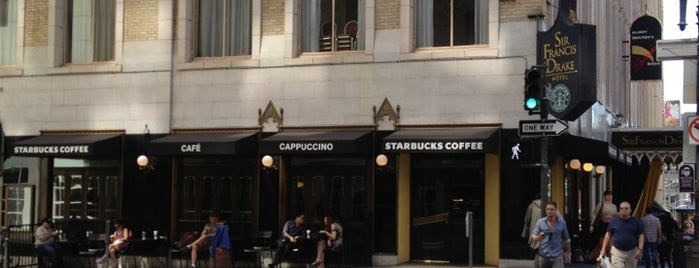 Starbucks is one of San Francisco!.