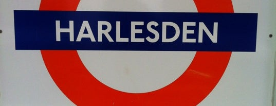 Harlesden London Underground and London Overground Station is one of Londen.