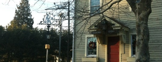 Ye Olde Centerton Inn is one of NY Region Old-Timey Bars, Cafes, and Restaurants.