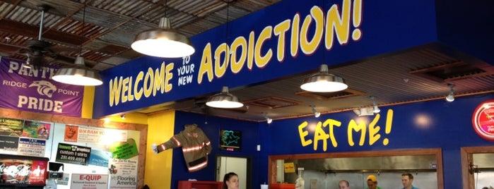 Fuzzy's Taco Shop is one of Gespeicherte Orte von J.