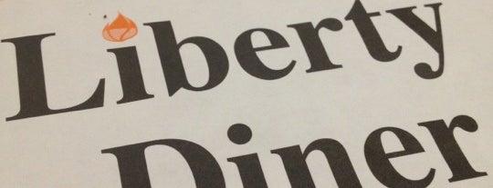 Liberty Diner is one of สถานที่ที่ Wayne ถูกใจ.