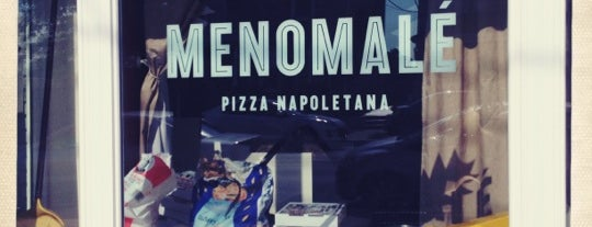 Menomalé Pizza Napoletana is one of D.C. City Guide.