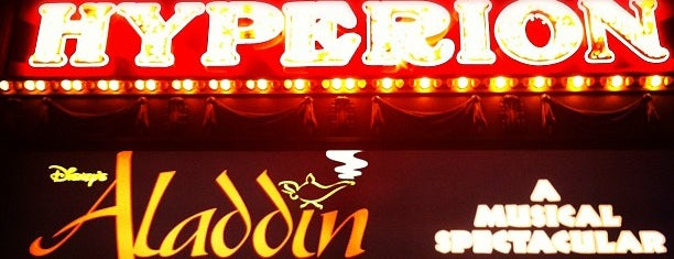 Hyperion Theater - Disney's Aladdin A Musical Spectacular is one of สถานที่ที่ Krista ถูกใจ.