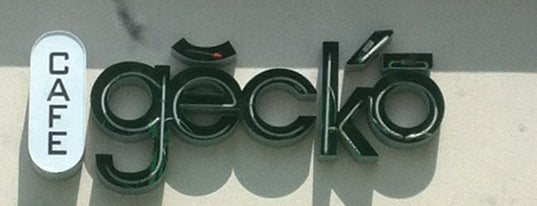Cafe Gecko is one of Zach: сохраненные места.