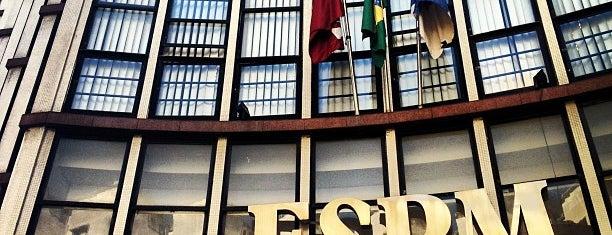 Escola Superior de Propaganda e Marketing (ESPM) is one of Rio de Janeiro.