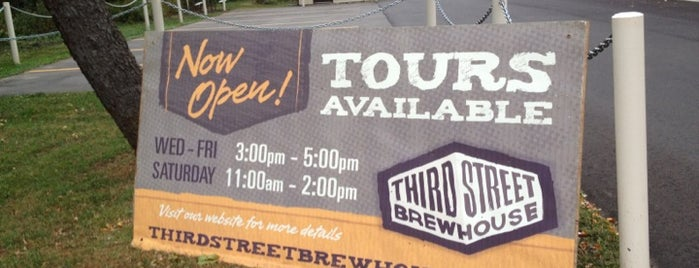 Third Street Brewhouse is one of Minnesota Breweries and Brewpubs.