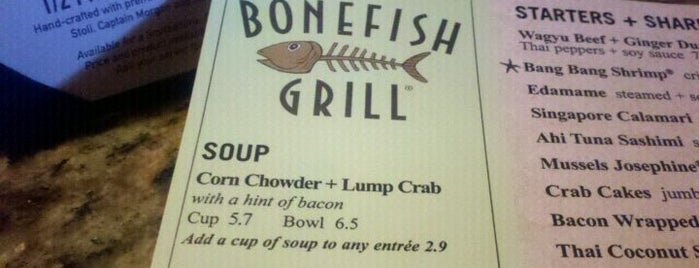 Bonefish Grill is one of Talhaさんの保存済みスポット.