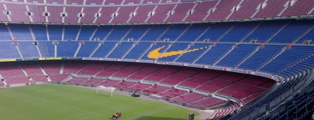 Camp Nou is one of The Great Football Pilgrimage.