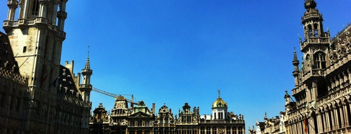 Grand Place / Grote Markt is one of Bruxelles | Brussels #4sqcities.