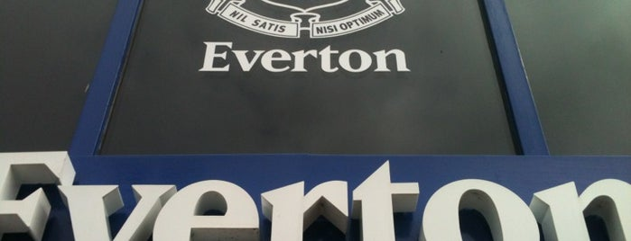 Goodison Park is one of Barclays Premier League Grounds & Stadiums 2013/14.