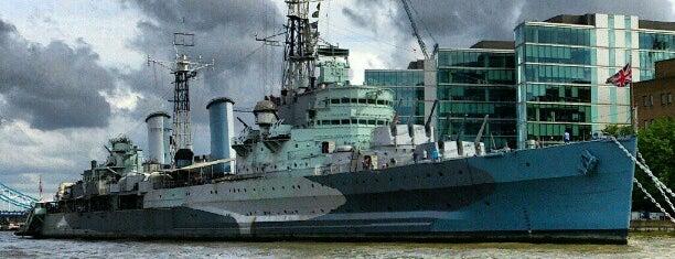 HMS Belfast is one of London.