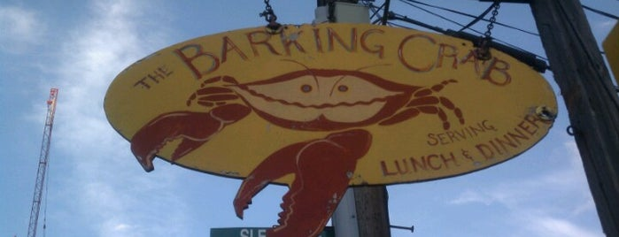 The Barking Crab is one of My Boston Bean.