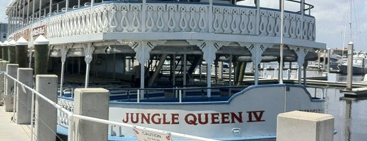 Jungle Queen Riverboat is one of Coral Springs.