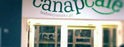 Canapcafe is one of Krakow.