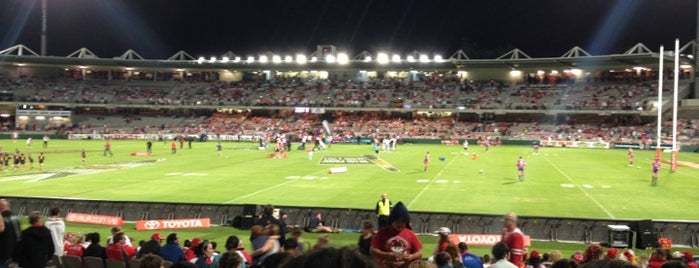 Jubilee Oval is one of Lugares favoritos de Marcus.