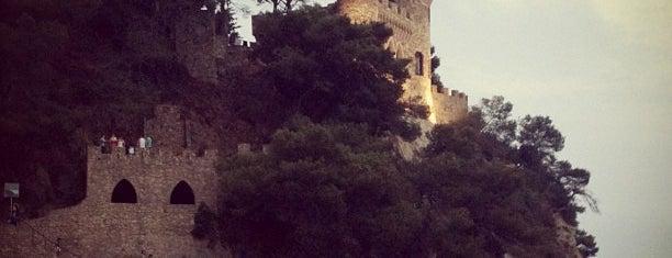 Castle D'en Plaja is one of Lloret De Mar, Girona (August 2016).