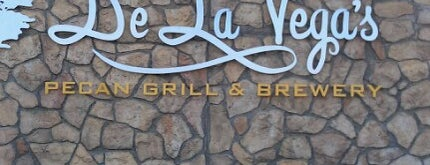 De La Vega's Pecan Grill and Brewery is one of New Mexico Breweries.