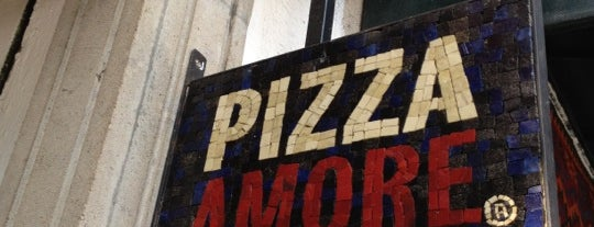 Pizza Amore is one of Locais salvos de Aline.