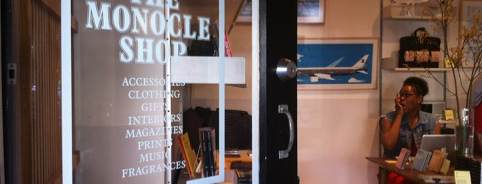 Monocle Shop is one of New York - Shopping.