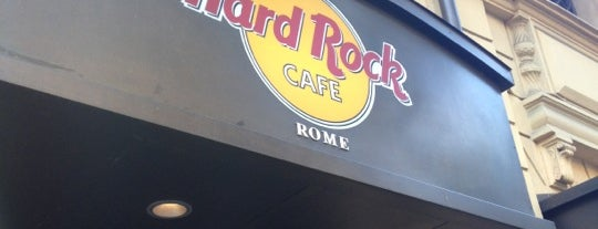 Hard Rock Cafe Rome is one of Hard Rock Cafes I've Visited.