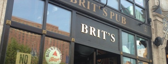Brit's Pub & Eating Establishment is one of Locais curtidos por Brooke.