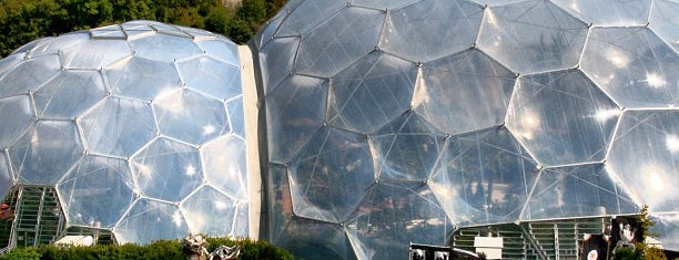 The Eden Project is one of Cool Places to Visit.