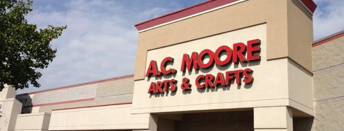 A.C. Moore Arts & Crafts is one of Lieux sauvegardés par PenSieve.