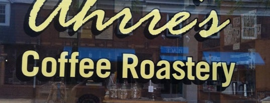Ahrre's Coffee Roastery is one of Lugares guardados de Emily.