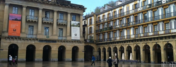 Plaza de la Constitución is one of San Sebastián.