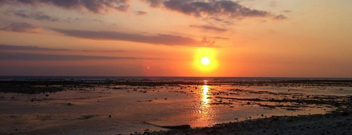 Sunset Point is one of Gili + Lombok.