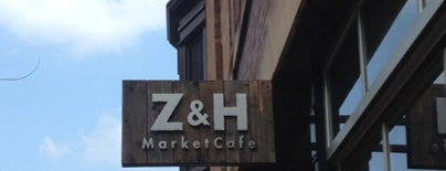 Zaleski & Horvath MarketCafe is one of Lugares guardados de Nikkia J.
