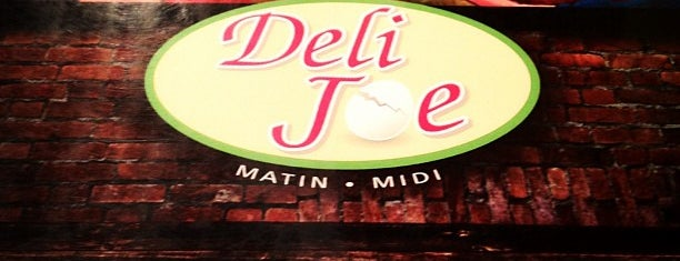 Deli Joe is one of Montréal.
