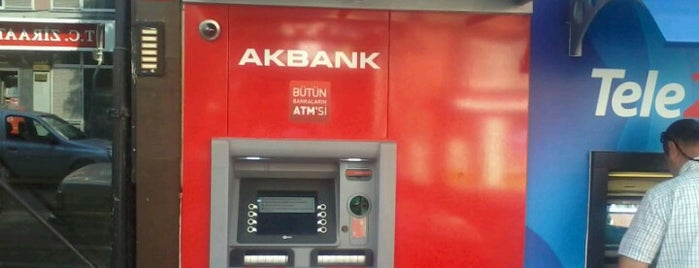 Akbank Kışla Cad Atm is one of Mekanlar.