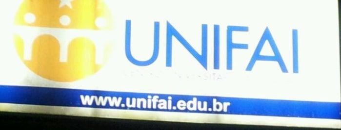 Centro Universitário Assunção (UniFAI) is one of Profissão.