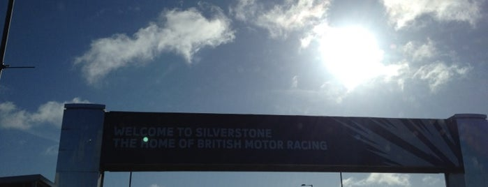 Silverstone Circuit is one of MotoGP Circuits ( Racetracks ).