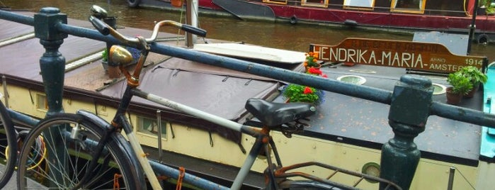 Woonbootmuseum | Houseboat Museum is one of De Jordaan 1/2.