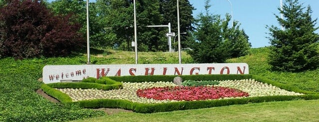 Oregon/Washington State Line is one of Seattle; Vancouver & Whistler.