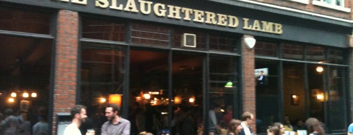 The Slaughtered Lamb is one of Geeky hangouts.
