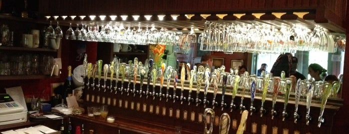 Ebenezer's Pub is one of America's 100 Best Beer Bars - Draft Magazine 2014.