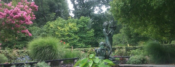 Conservatory Garden is one of New York City Tourists' Hits.