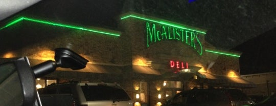 McAlister's Deli is one of Lieux qui ont plu à Liz.