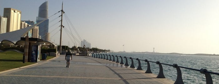 Corniche is one of Abu Dhabi.