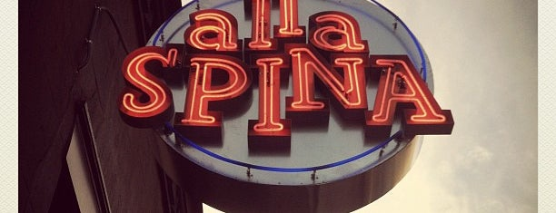 Alla Spina is one of Dinner spots 2.