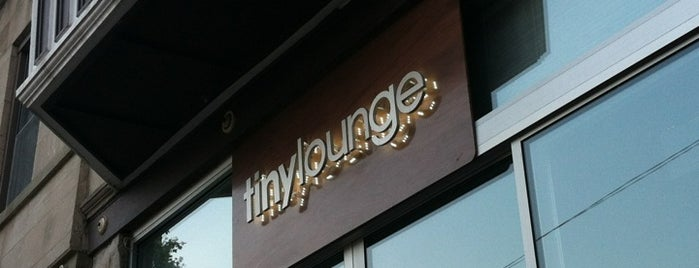 Tiny Lounge is one of Chicago Magazine's 100 Best bars 2013.